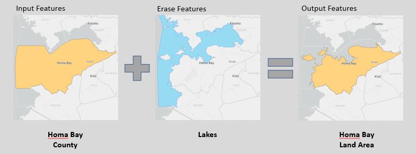 Overlay: Erase tool