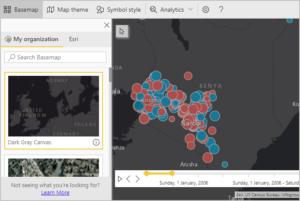 ArcGIS Maps basemap